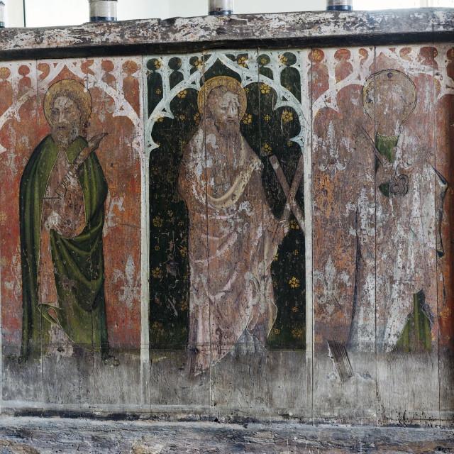 """""""Edingthorpe Church 3"""" stock image"""