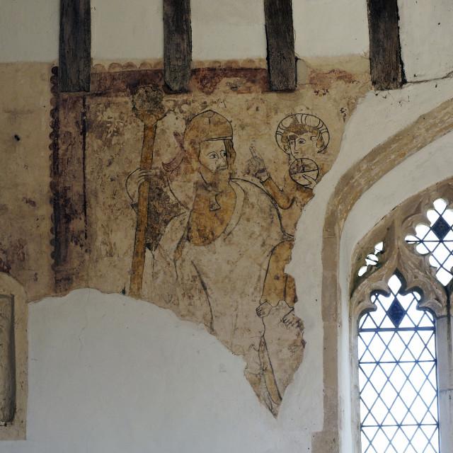 """""""Edingthorpe Church 7"""" stock image"""