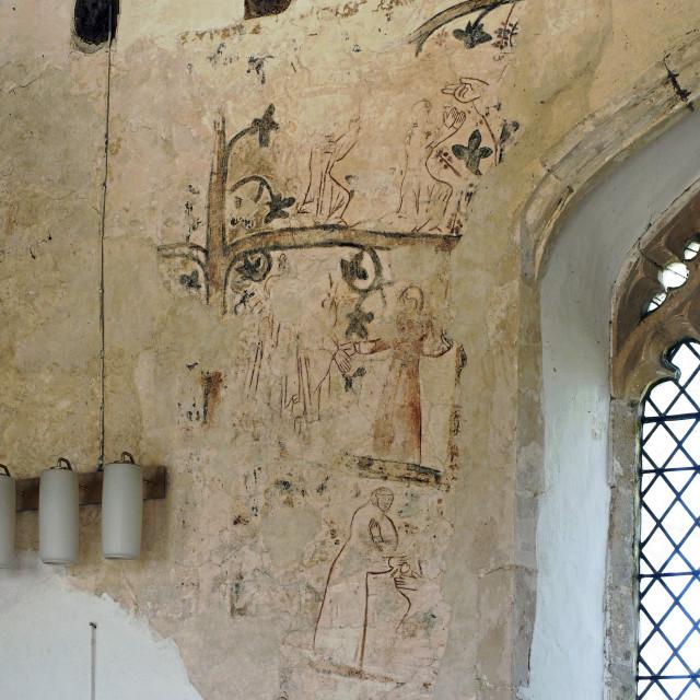 """""""Edingthorpe Church 5"""" stock image"""