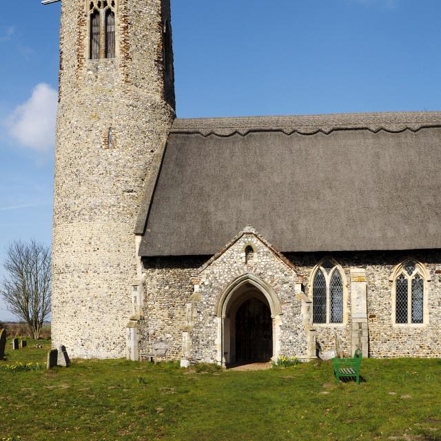 """""""Edingthorpe Church 11"""" stock image"""
