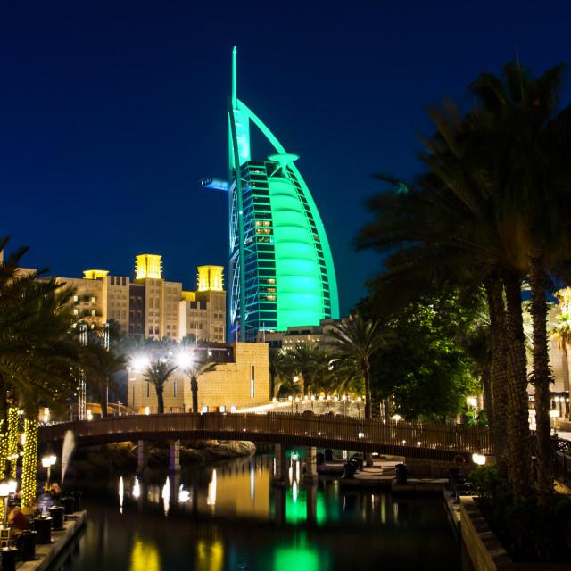"""""""Burj Al Arab Dubai"""" stock image"""