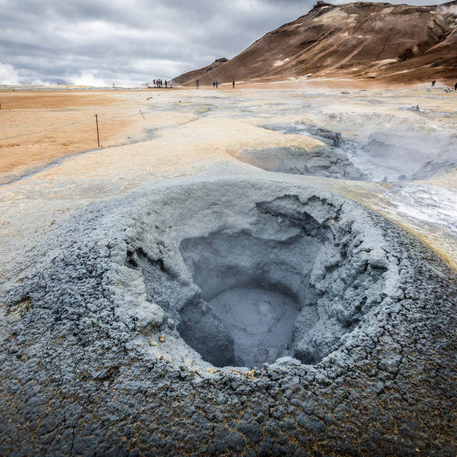 """""""Hverir, Northern Iceland"""" stock image"""