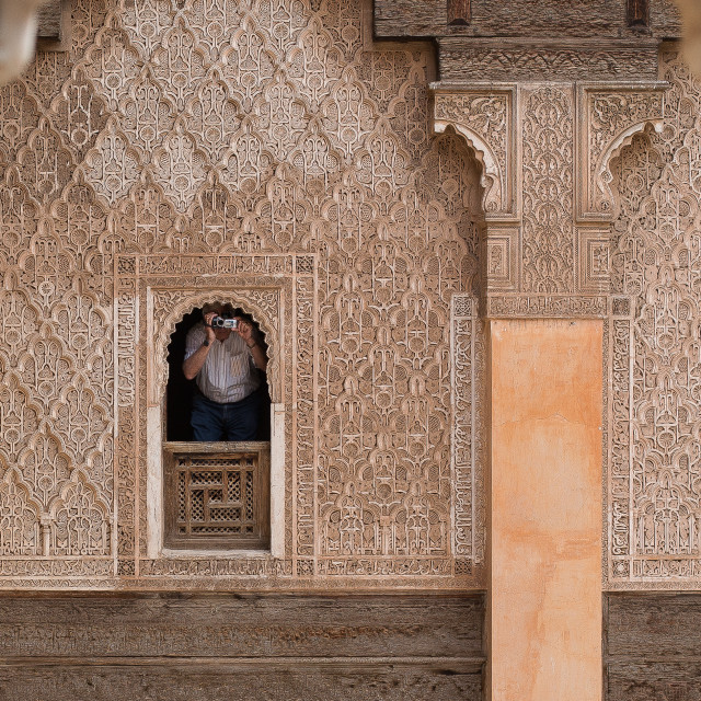 """Madersa Ben Youseff Photographer"" stock image"