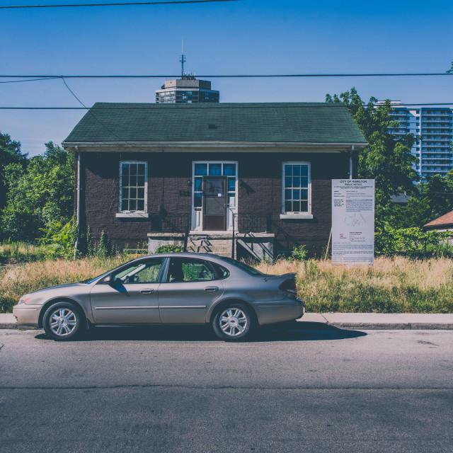 """Sad house"" stock image"