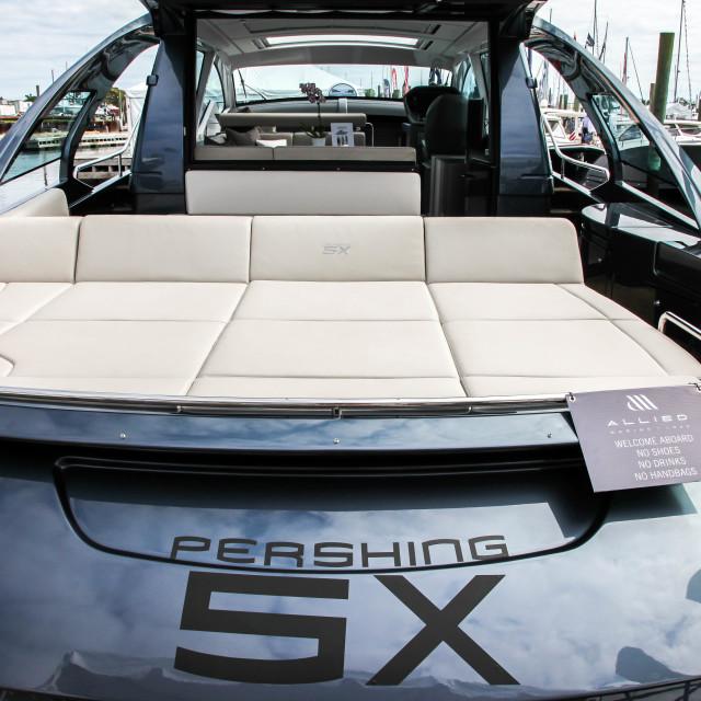 """""""Pershing 5X"""" stock image"""