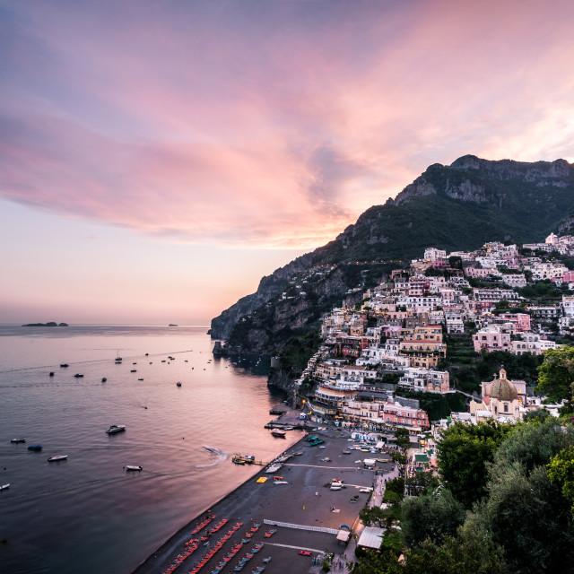 """Positano, Amalfi Coast, Italy"" stock image"