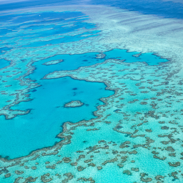 """Great Barrier Reef, Australia"" stock image"