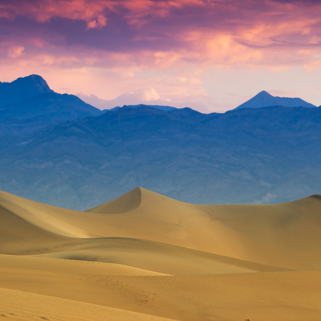 """""""The Death Valley"""" stock image"""