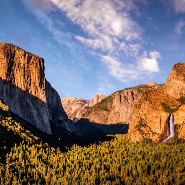 """Yosemite Valley, California, USA"" stock image"