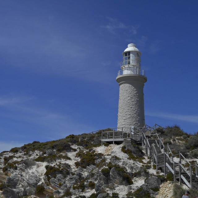"""""""Bathurst lighthouse,Western Australia."""" stock image"""