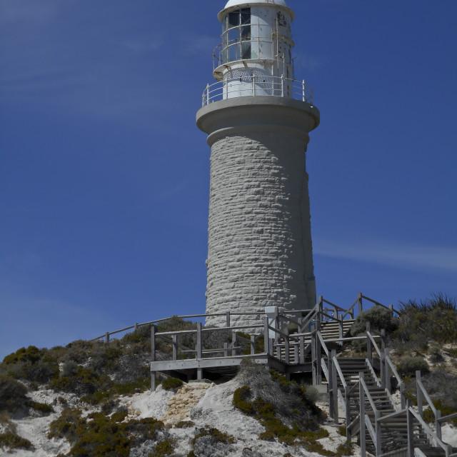 """""""Bathurst lighthouse,Western Australia"""" stock image"""