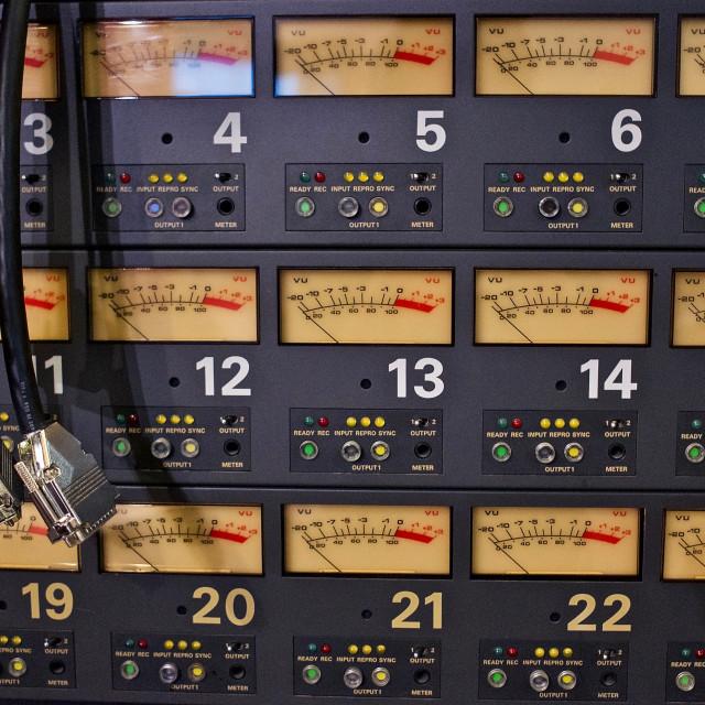 """""""Recording Studio"""" stock image"""