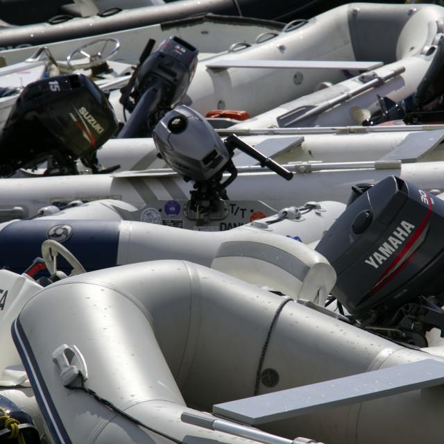 """""""RIB boats"""" stock image"""