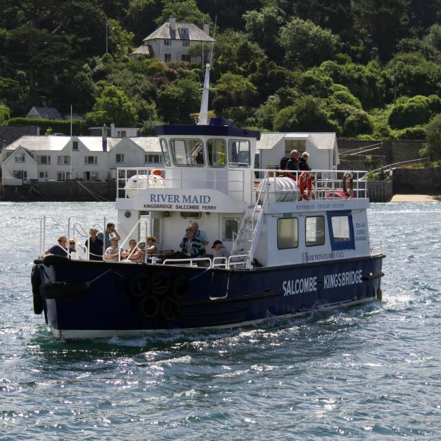 """Salcombe Harbour 1"" stock image"