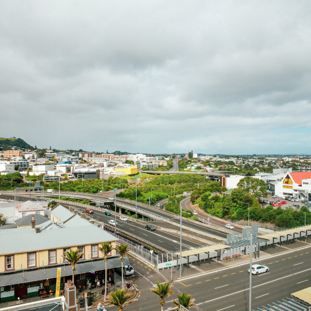 """""""Auckland, New Zealand at day"""" stock image"""