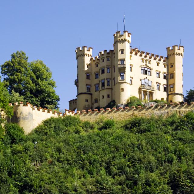 """""""Hohenschwangau Castle"""" stock image"""