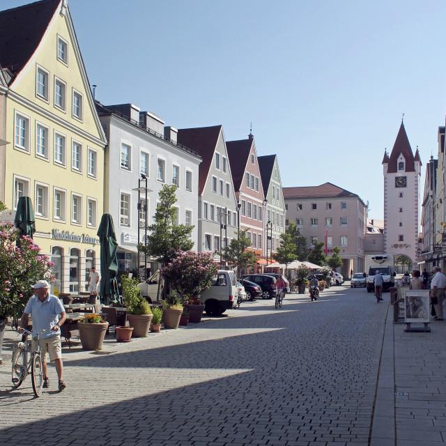 """Mindelheim 1"" stock image"