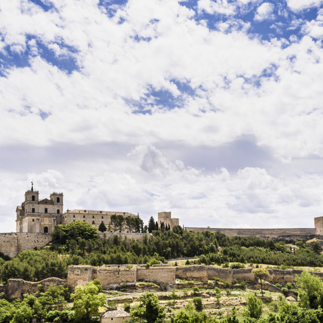 """Monastery of Ucles"" stock image"