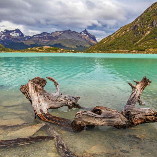 """Laguna Esmeralda"" stock image"
