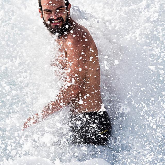"""Wave splash"" stock image"