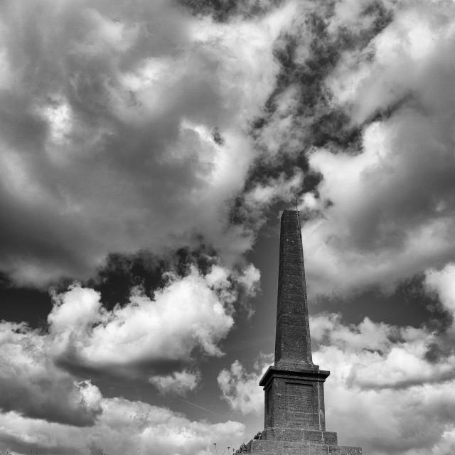 """""""Ham Hill memorial"""" stock image"""