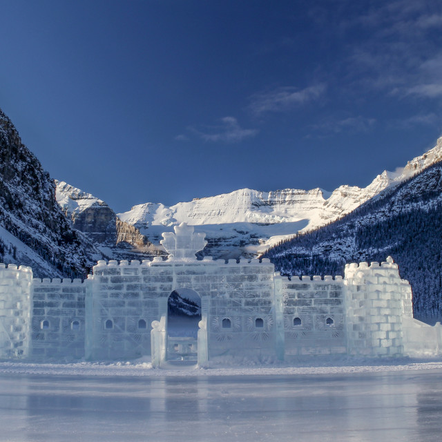 """Ice Castle"" stock image"