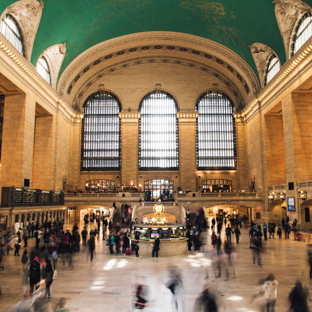 """""""Grand Central Terminal - New York"""" stock image"""