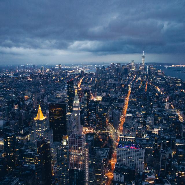"""New York Skyline"" stock image"