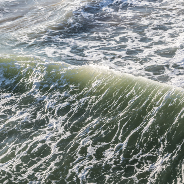 """""""Wave action"""" stock image"""