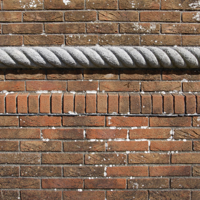 """""""Old weathered brick wall background"""" stock image"""