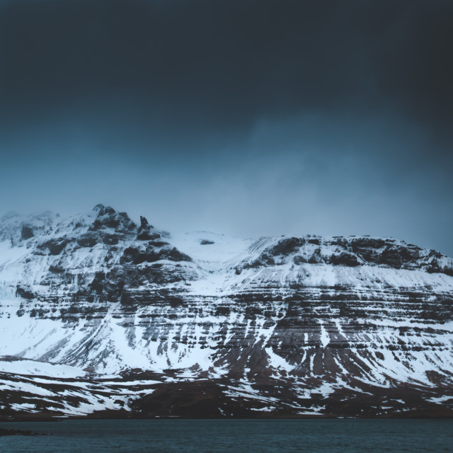 """""""Mountain landscape - Iceland"""" stock image"""