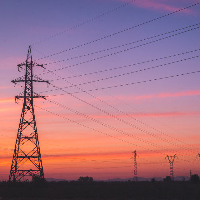 """""""Electric morning"""" stock image"""