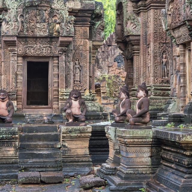 """Banteay Srei, Cambodia"" stock image"