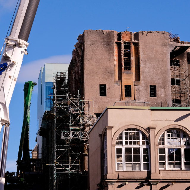 """The MacKintosh Building"" stock image"