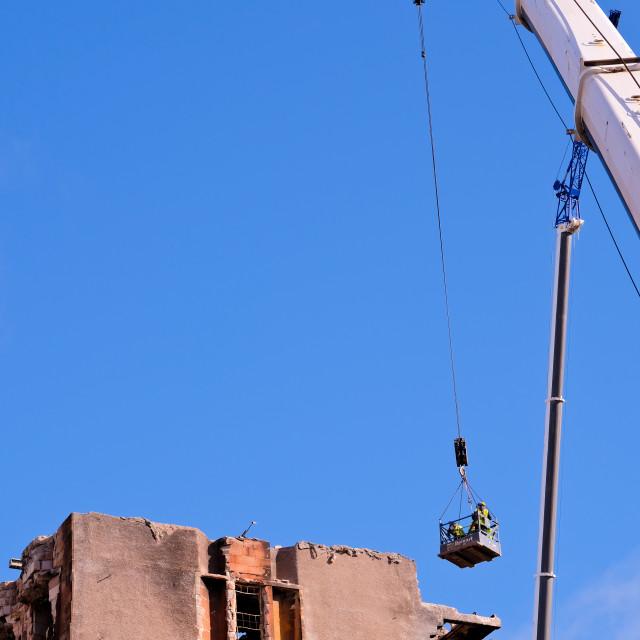"""Blue Sky Over The MacKintosh Building"" stock image"