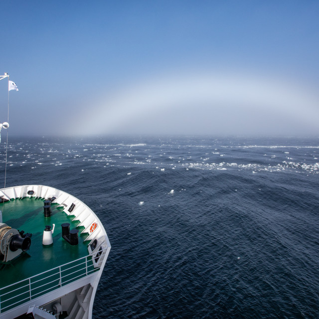 """A fog bow"" stock image"