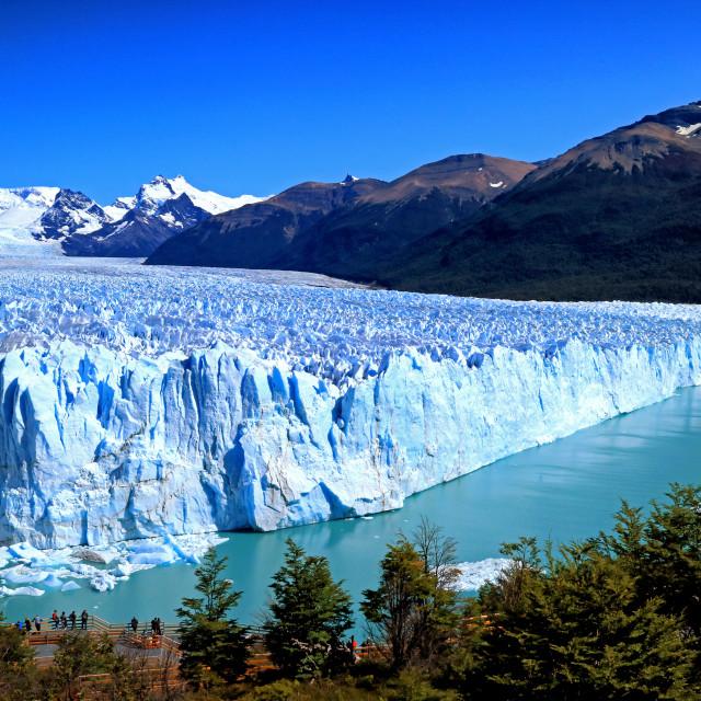 """""""Glacier Perito Moreno"""" stock image"""