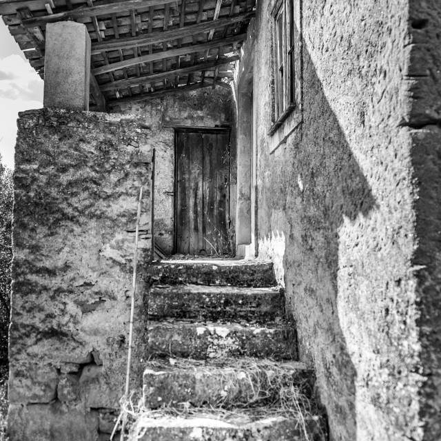 """""""Stairway to home"""" stock image"""