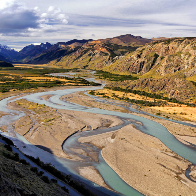 """Los Glaciares National Park"" stock image"
