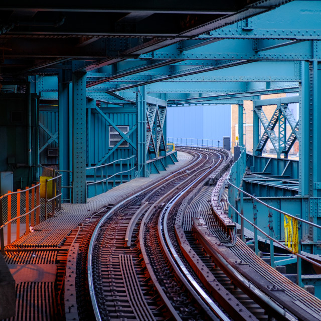 """Subway train station"" stock image"