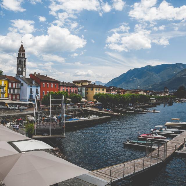 """Ascona Summer Mood"" stock image"