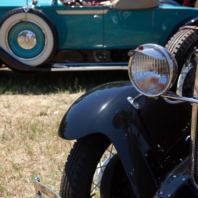 """""""30s antique cars"""" stock image"""