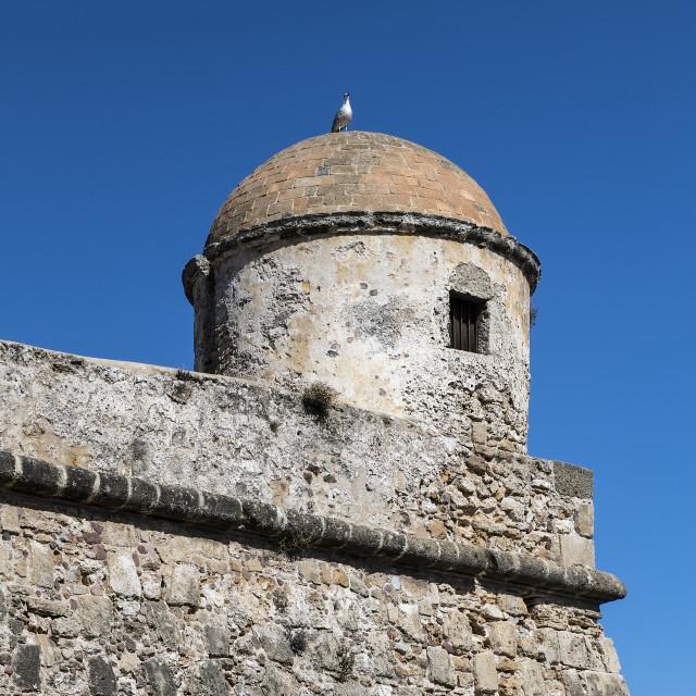 """""""Forte della Maddalena, Alghero"""" stock image"""
