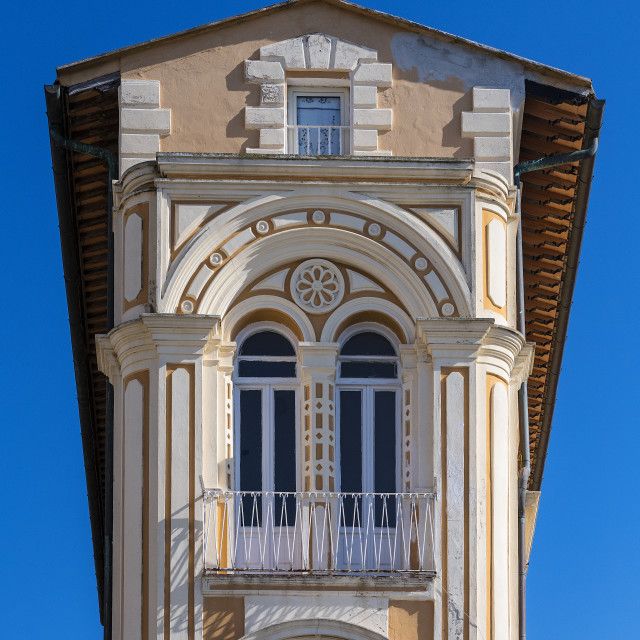 """Unique architecture in Portoferraio, Elba"" stock image"