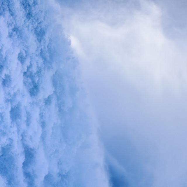 """""""Horseshoe Falls, Niagara Fall, New York"""" stock image"""