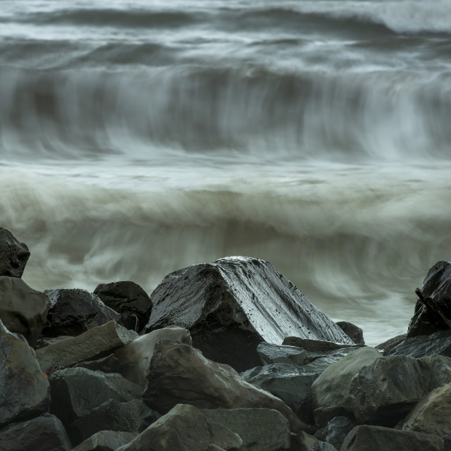 """""""Incoming tide"""" stock image"""
