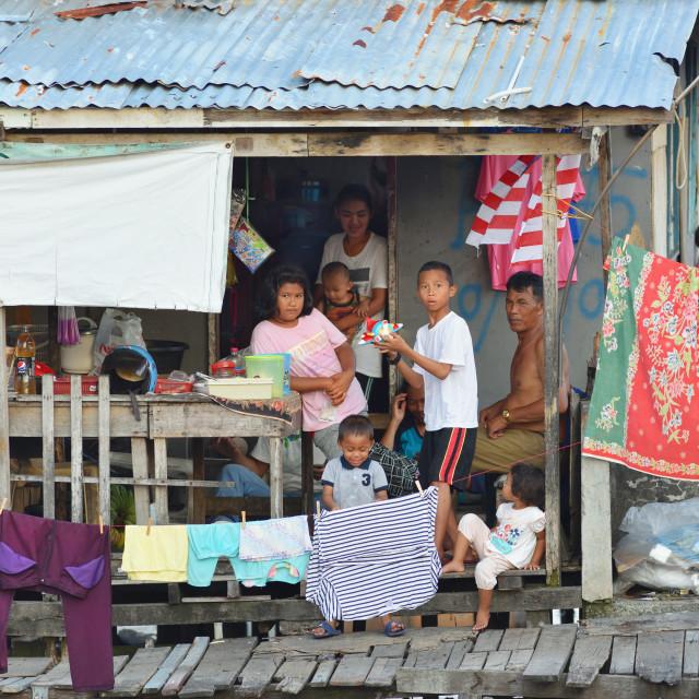 """Village life 3"" stock image"