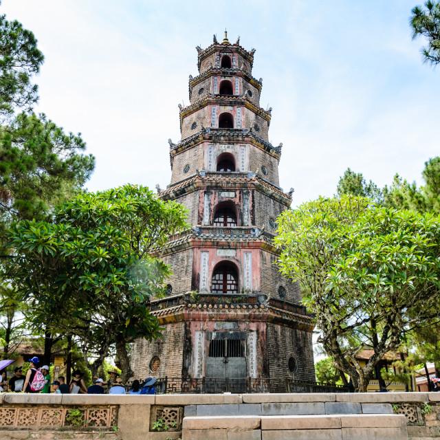 """Thien Mu Pagoda"" stock image"