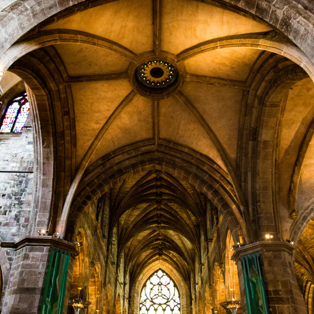 """St. Giles cathedral - Edinburgh, Scotland"" stock image"