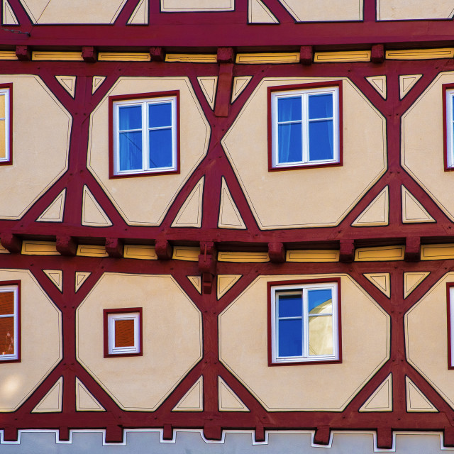 """Bavarian house"" stock image"